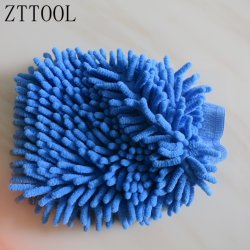 De microfibra Zttool chenilla guante de lavado de coches
