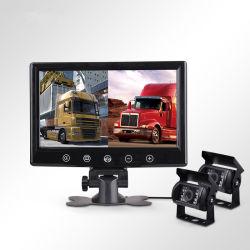 CCD 칩 방수 뒷 전망 사진기 + 모니터 트럭 버스 트레일러 RV 백업 사진기 시스템 장비를 반전하는 9 LCD