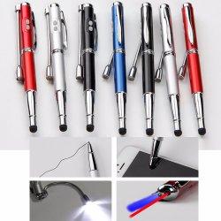 5 en 1 Pointeur laser rouge enseigner l'huile de LED blanche UV Pencle PDA Lampe stylo plume d'éclairage LED