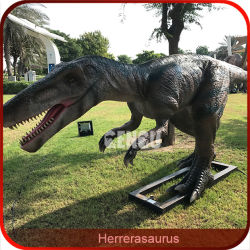 Dinosaurier-Park-Anziehungskraft-handgemachter lebhafter Dinosaurier