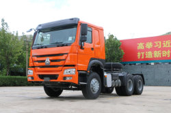 Sinotruk Prime Mover 6X4 터미널 컨테이너 트랙터 트럭 헤드
