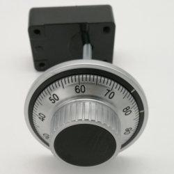 Serratura sicura di combinazione delle 3 rotelle per il portello sicuro di /Vault della casella