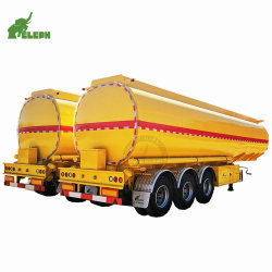 42000~45000litres de liquide de grande capacité citerne semi-remorque de camion de réservoir de carburant