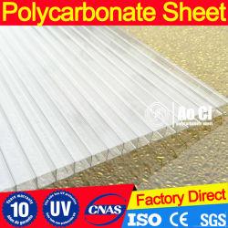 4, 6, 8, 10mmpolycarbonate Twin-Wall лист