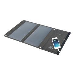 14W Sunpower DC USB repliable Téléphone Mobile Banque d'alimentation Chargeur solaire portable sac