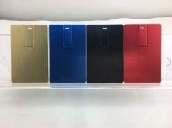 Tasto del USB della carta di credito del metallo per il marchio su ordinazione
