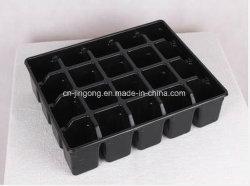 20 celdas Negro PS Jardín Black Tray