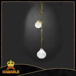Décoration intérieure Nouveau design en verre de fer la pendaison de lumière la poignée de commande (KA8324)