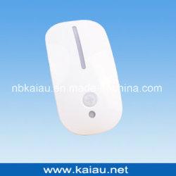 Formato do Mouse Sensor PIR levou a lâmpada da luz nocturna