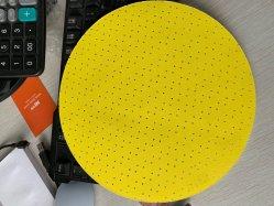 225мм отверстия желтый гипсокартон шлифовальный диск для гипсокартон шлифовальной машинкой