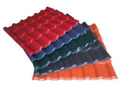 高いPVC 3層UPVCの屋根瓦のさび止めPVC屋根は総合的な樹脂の屋根ふきカバーを広げる