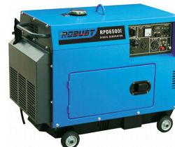 Портативный малых колеса Silent дизельных генераторных установках звуконепроницаемые генераторах