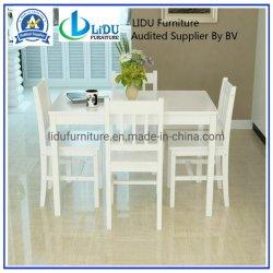 Table de restaurant et le président du mobilier de luxe des chaises en bois Antique Cafe grande table en bois rectangulaire