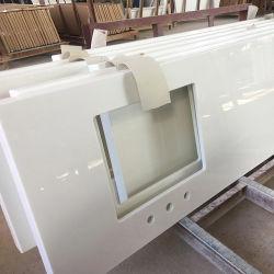 Nano cristallisé Salle de bains en verre haut de la vanité de pierre de comptoir