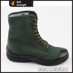 Botas de Segurança Industrial com tecido verde (SN5313 Superior)