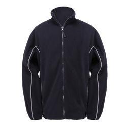 Homens completa do Sport Zipper velo polar casaco