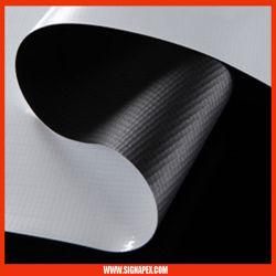 L'impression numérique, Blockout PVC Flex support jet d'encre de solvant de la bannière de vinyle (SignApex SBL550 510g/m²)