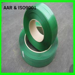 Fascia verde impressa della cinghia dell'animale domestico