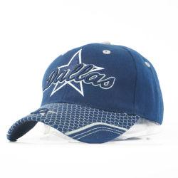 Bordados personalizados com chapéus de desportos de acrílico com fivela de fecho de velcro