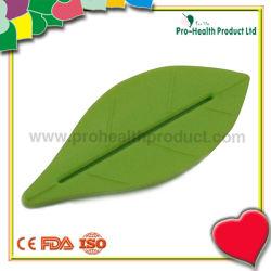 잎형 디자인 플라스틱 치약 디스펜서 스퀴저