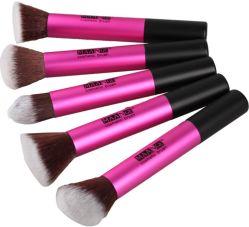 5pcs professionnel Maange poils synthétiques de haute qualité Ensemble de la brosse de maquillage
