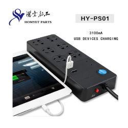 Multi Function Universal Power Socket met USB Charging voor MID&Phone (hy-PS01)
