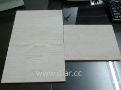 لوح خط سكة حديد قصير من الإسمنت المصنوع من الألياف - قطر خشبي