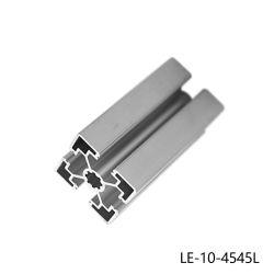 Corte livre Anodizados 4545 Alumínio extrudido Industrial Perfil para construções
