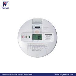 Ménage fonctionne sur batterie du monoxyde de carbone/Co Alarme (KAD)