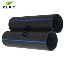 대직경을%s 가진 고압 물 공급 검정 폴리에틸렌 HDPE 플라스틱 관