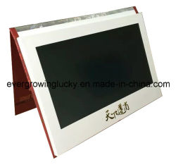 LCD personnalisé Carte de voeux vidéo commerciale