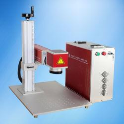 Láser de fibra Instrumento de marcación de grabado en metal