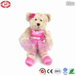 Stuk speelgoed van de Teddybeer van de Gift van het Meisje van de Pluche van het ballet het Zachte Doll Gevulde