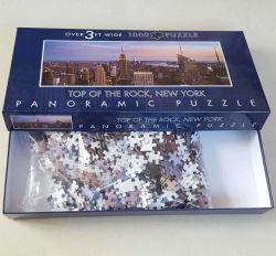 1000개의 큰 종이 보드 퍼즐, 선물 상자