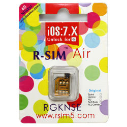 iPhone 4S용 최신 및 정품 R SIM 카드