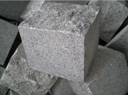Gris foncé/blanc/noir de pavés G654/G602/G603 flammé/sciés couper les granites Cubes/bordures