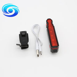 AchterLicht van uitstekende kwaliteit van de Fiets van de Laser van de Last USB het Rode