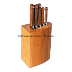 高品質の木のナイフの立場