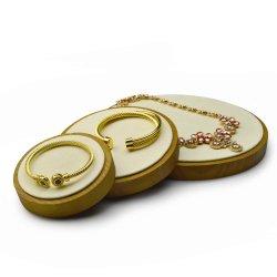 卸し売りカスタム木の方法ギフトの宝石類の表示皿