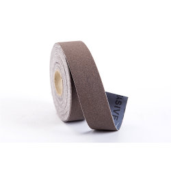 El óxido de aluminio tela esmeril abrasivas rollos de papel de arena para la madera