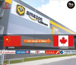 Amazon FBA 中国カナダ物流エージェントへの航空貨物輸送 UPS Express による出荷