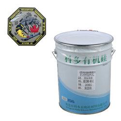 La marca del proveedor la formación de líquido Serigrafía de silicona orgánica