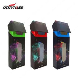 Kundenspezifischer Cbd verpackenschaukarton für Cbd Kassette/Vape Feder/Batterie