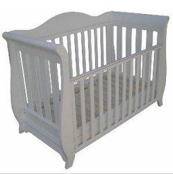 현대적인 패션 솔리드 우드 아기 침대