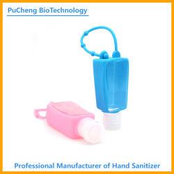 승인된 선물 슈퍼마켓 OEM 킬 세균 3D 실리콘 홀더 손 살균기 젤 세트