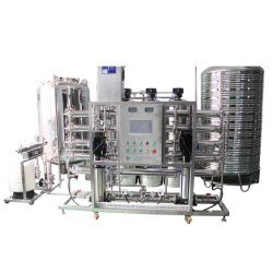 Пять эффект дистилляции 500-5000л/ч фармацевтической дистиллированной воды машины вод оборудование