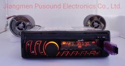 Uno DIN Panel fijo Car Audio Car DVD Player con función Bluetooth USB SD FM