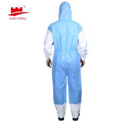 ディスポーザブル CE Cat III タイプ 3 4 タイプ 5 6 超多孔質保護服強化をした全身保護服 シーム( Seam