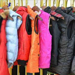 Ropa de segunda mano China Proveedor ropa usada Invierno Sleeveless Down Chaqueta de plumón Coat ropa de invierno de segunda mano Bales mixtos