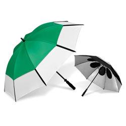 Novo Design de Moda buracos ventilado Piscina Anti Solar UV Parasol Golf Umbrella para sombra Factory